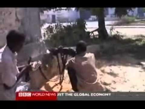 BBC World News: Somali piracy 08 Dec 2008 1930 VJ work