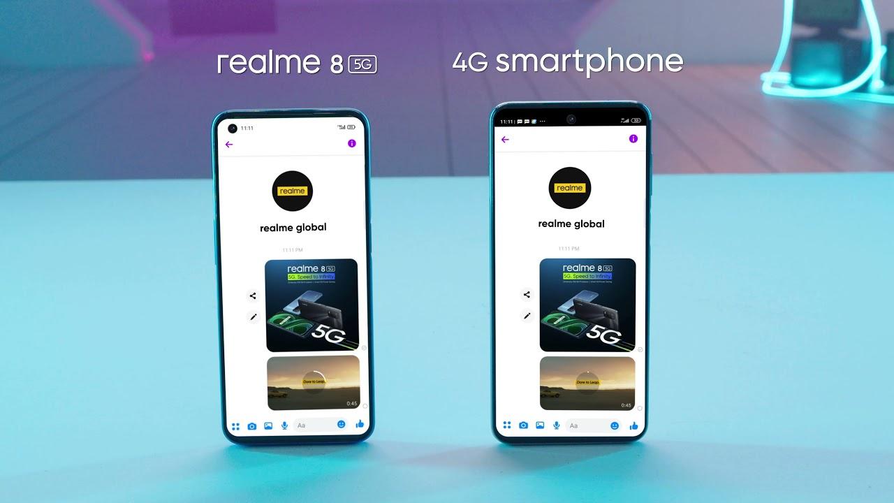 5G VS 4G Speed Test : 8 5G #5GForEveryone