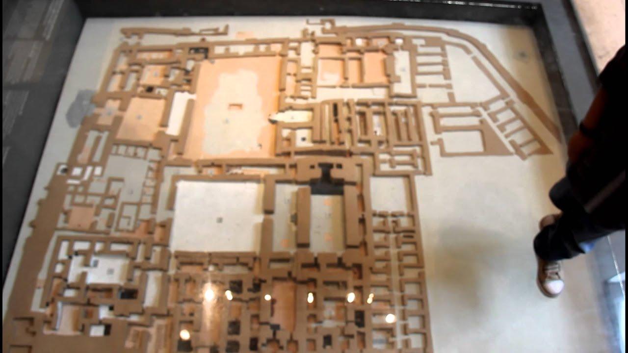 Kavin Explaining Version Of Mesopotamian City Plan Louvre Museum Paris July 13th 2012
