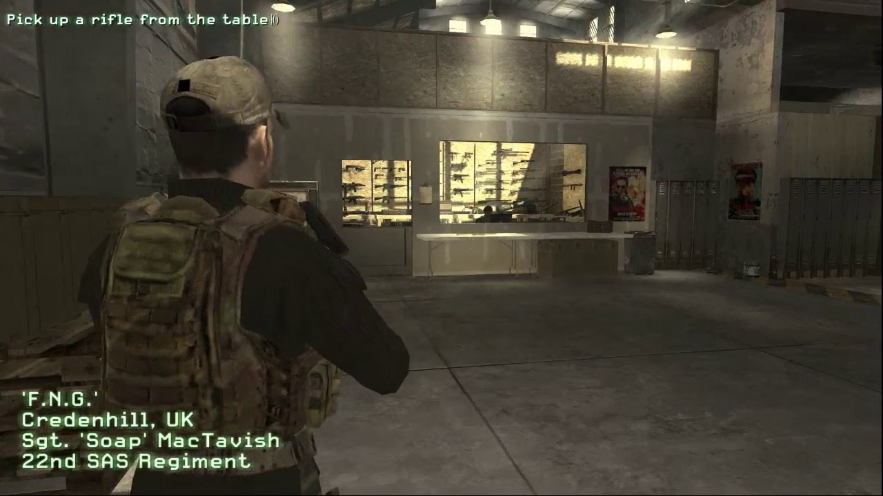 Call Of Duty 4 Modern Warfare Mission 1fng Intro Cutscene