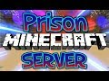 NEW PRISON MINECRAFT SERVER! (FREE OP KEYALL) 1.8/1.9/1.12.2 2018 [HD]