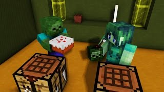 Monster School: Girls vs Boys - Crafting - Combat - Brave - Brewing Challenge - Minecraft Animation
