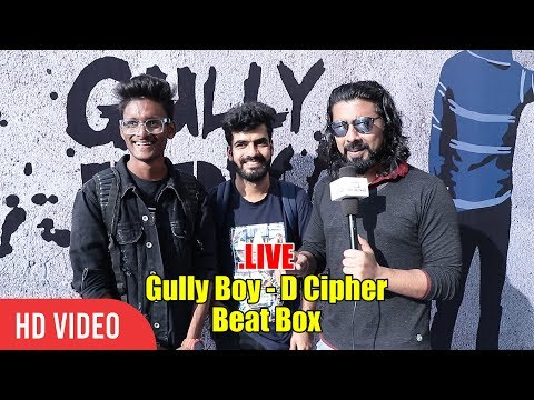 EXCLUSIVE CHAT With With Gully Boy D Cipher And Roshan | #GullyBoy Trailer Launch