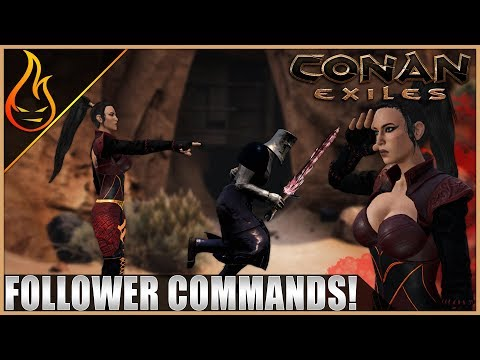New Thrall Commands Conan Exiles 2020 | PTR Content