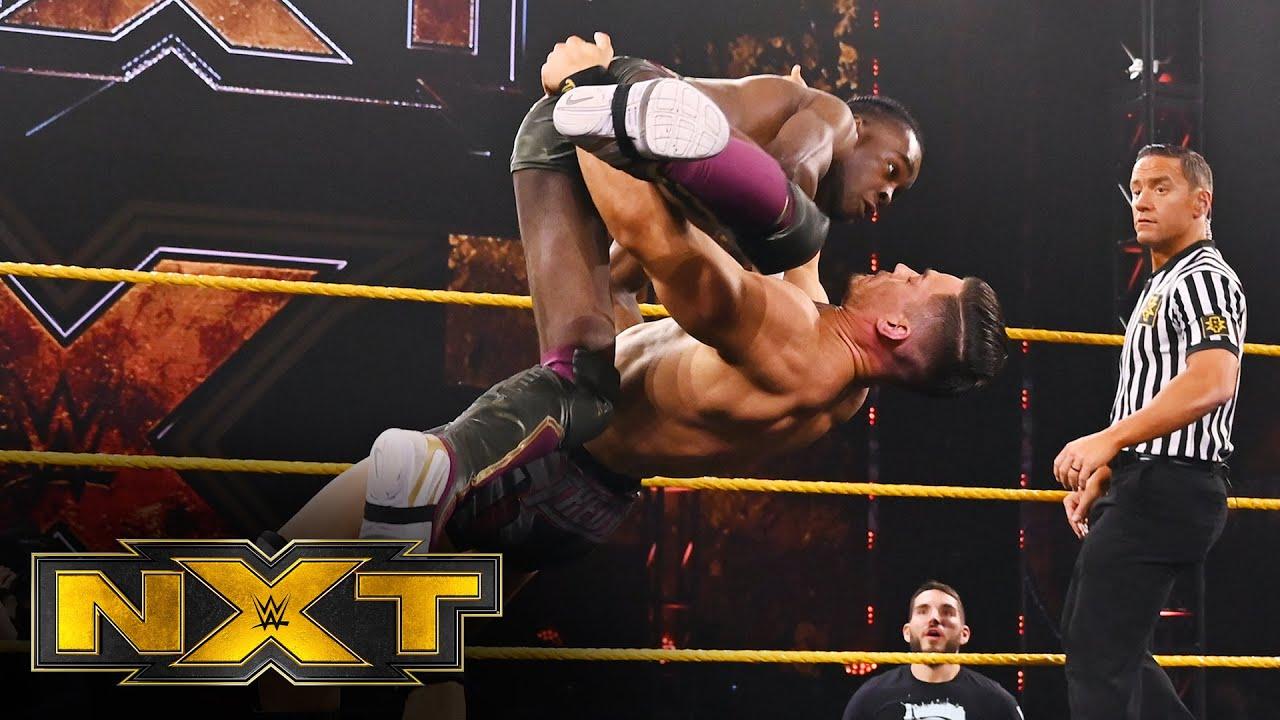 Leon Ruff vs. Austin Theory: WWE NXT, Feb. 3, 2021