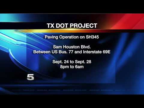 TxDOT Announces Road Closures for Construction Projects in McAllen, San  Benito