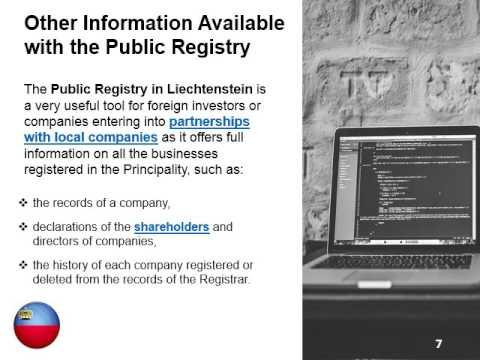 Liechtenstein Public Registry