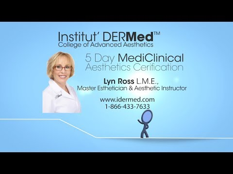 Institut' DERMed 5 Day Medi-Clinical Aesthetic Certification Course