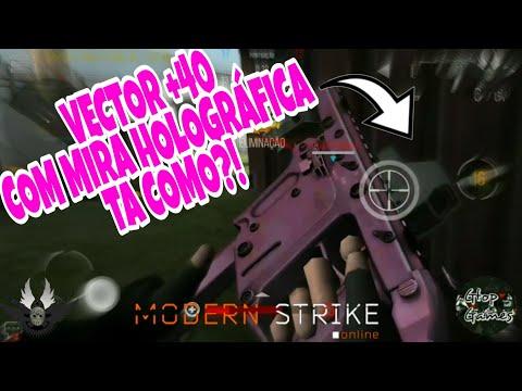 MSO, VECTOR +40 COM MIRA HOLOGRÁFICA... TA COMO?!!