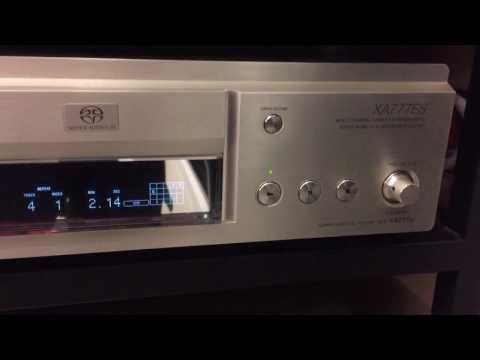 SONY SACD player SCD-XA777ES