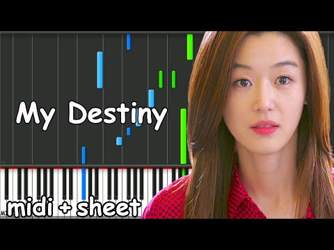 My Love From The Star - My Destiny Piano Midi
