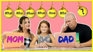 WHO KNOWS ME BETTER ? MOM OR DAD | SISTER FOREVER