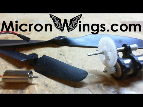 Attaching Propellers To Motors And Geardrives