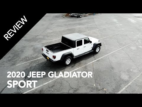 Better than the Tacoma? 2020 Jeep Gladiator Sport Review