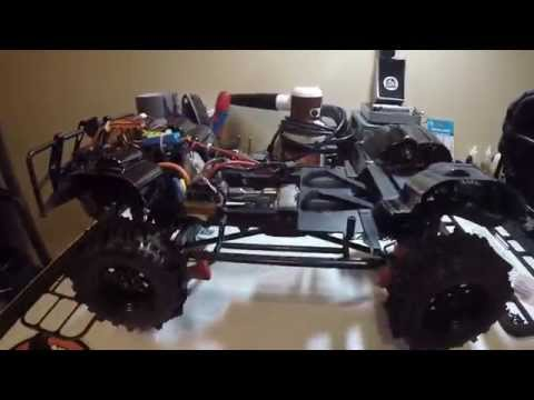 RC4WD Gelande 2 electronics location