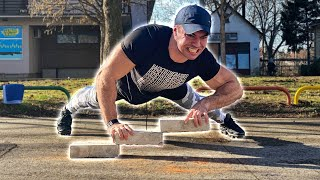 Push-ups on BRICKS challenge - Is it really that hard?