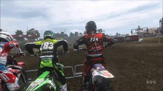 MXGP 2 - The Official Motocross Videogame - Teutschenthal | Germany MXGP Gameplay (HD) [1080p60FPS]