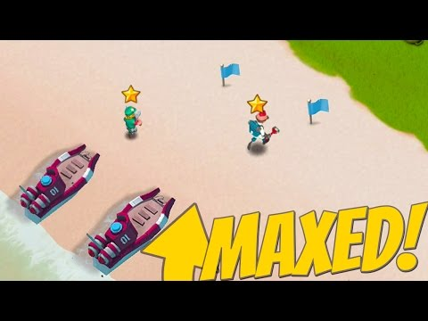 Boom Beach Maxed OUT Heroes! Insane Health and Base Abilities!