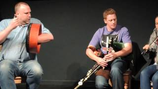 Rolf Wagels on Bodhrán, teacher's recital - Craiceann 2013 video notes