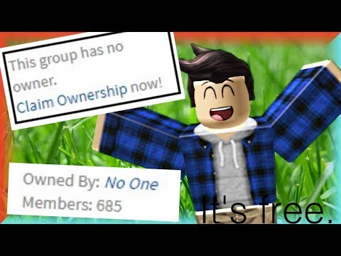 How To Get a FREE Group on Roblox! (2017)