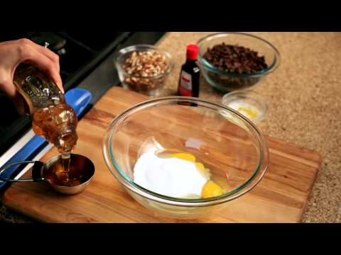 How to make pecan pie from scratch - #7 - Adding honey — Appetites®