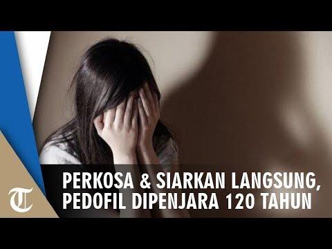 Pedofil Dipenjara 120 Tahun, Berulang Kali Perkosa Gadis Dibantu Kekasihnya Dan Disiarkan Langsung
