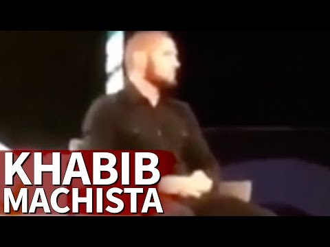 A lamentable resposta machista do loitador ruso Khabib