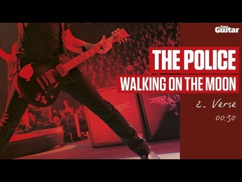 Guitar Lesson: The Police 'Walking On The Moon' -- Part Two -- Verse (TG215)