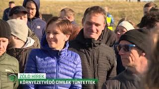 Környezetvédő civilek tüntettek 19-11-23