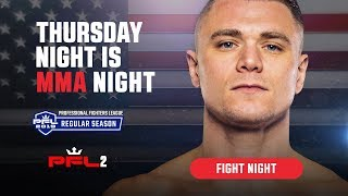 PFL2 | 2019 Live at the Nassau Coliseum in Uniondale, NY