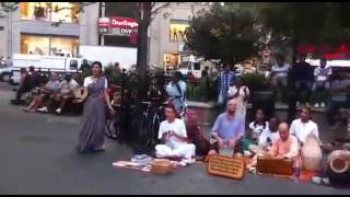 New dj break dance hare krishna