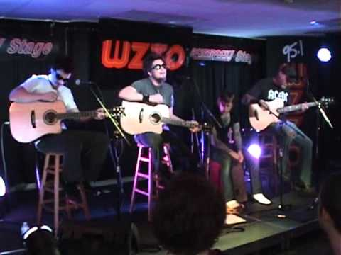 Crossfade - Dear Cocaine - Acoustic @ WZZO