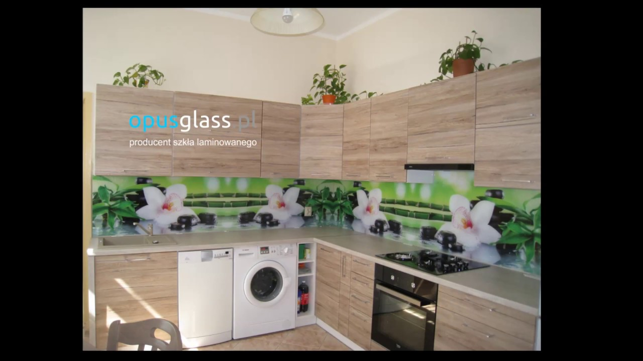 Szkło Laminowane Do Kuchni Szklo Zamiast Płytek Opus Glass