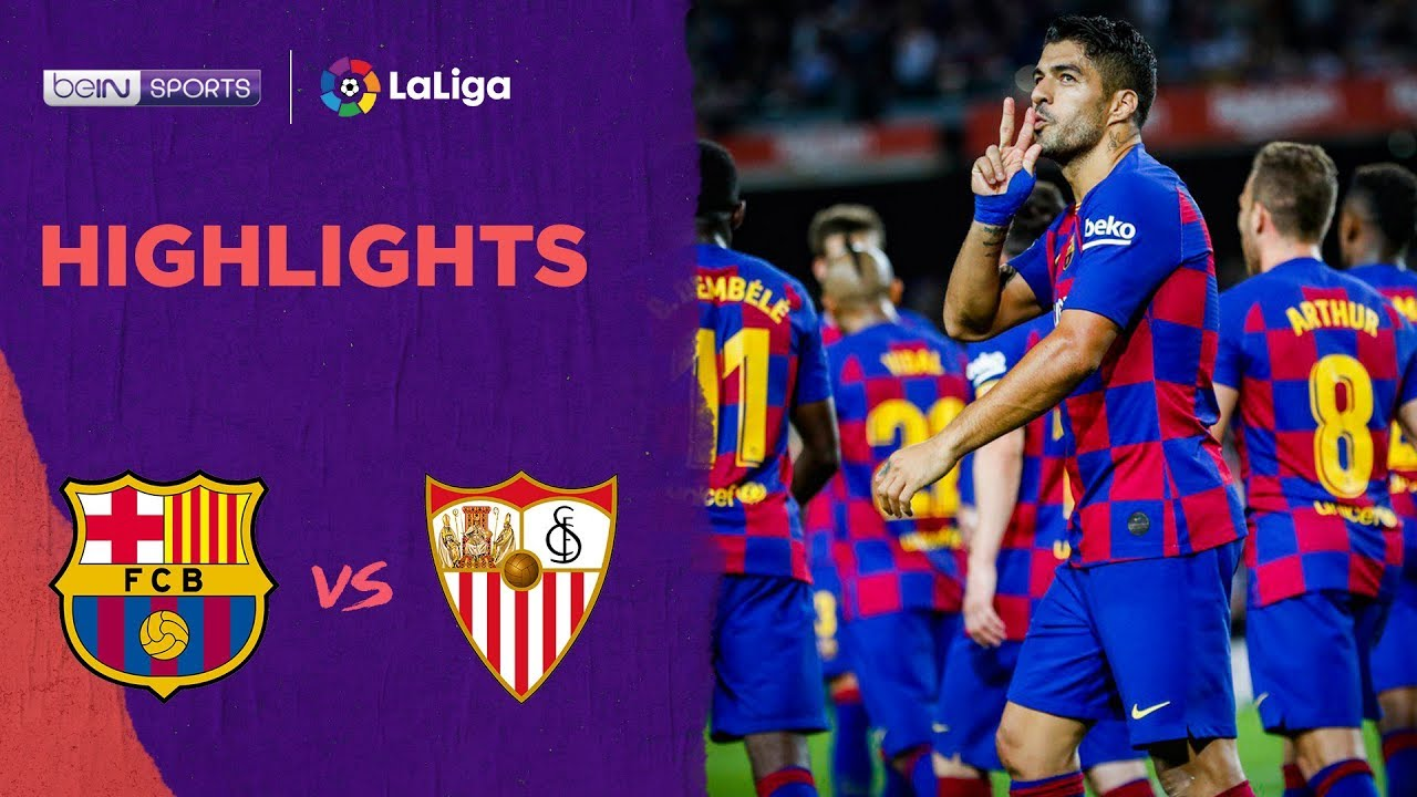 Barcelona 4-0 Sevilla | LaLiga 19/20 Match Highlights