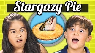 KIDS vs. FOOD - FISH HEAD PIE (Stargazy Pie)