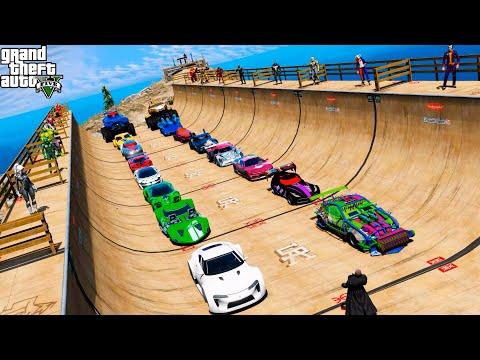 Супергеройские автомобили Испытание