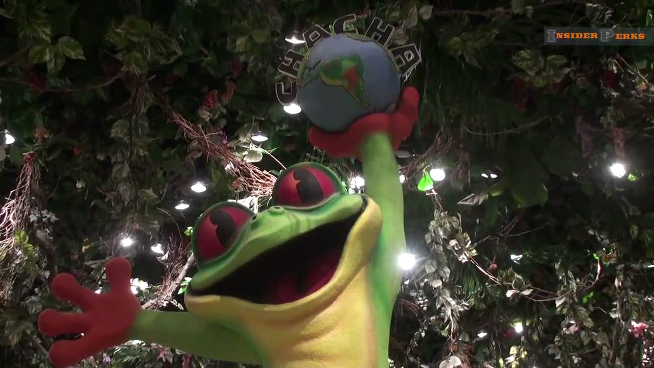 Rainforest Cafe Downtown Disney Youtube