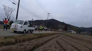 第39回篠山ABCマラソン大会2019 13.2Km付近(時間12:03~12:08)