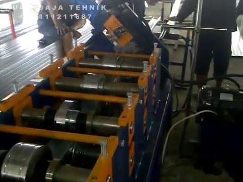 Mesin Baja Ringan Besar, Kanal C TY210 | Rollforming