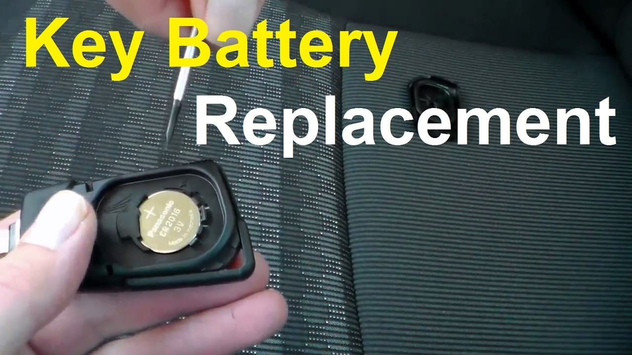 toyota yaris key battery replacement how to replace remote. Black Bedroom Furniture Sets. Home Design Ideas