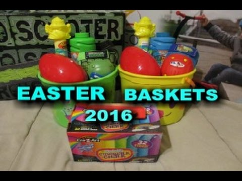Easter baskets ideas for boys age 6 3 2016 youtube easter baskets ideas for boys age 6 3 2016 negle Image collections