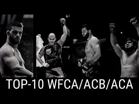 TOP-10 бойцов WFCA | ACB | ACA по количеству побед