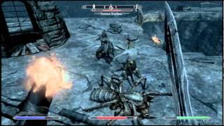 Skyrim - Pegando a Mehrunes