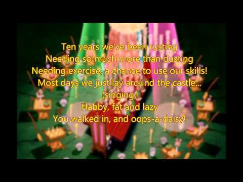 Be Our Guest (w/ lyrics) From Disney's