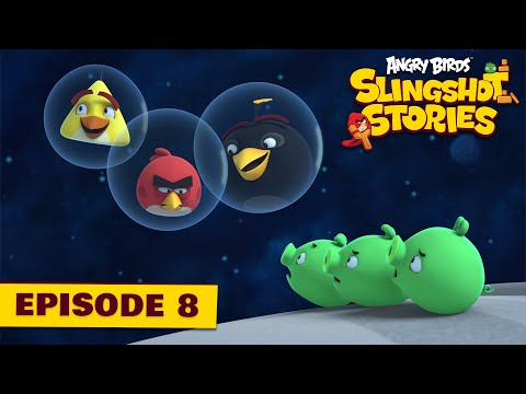 Angry Birds Slingshot Stories Ep. 8 | Space Invaders