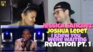 Jessica Sanchez & Joshua Ledet - I Knew You Were Waiting - American Idol Reaction Pt.1