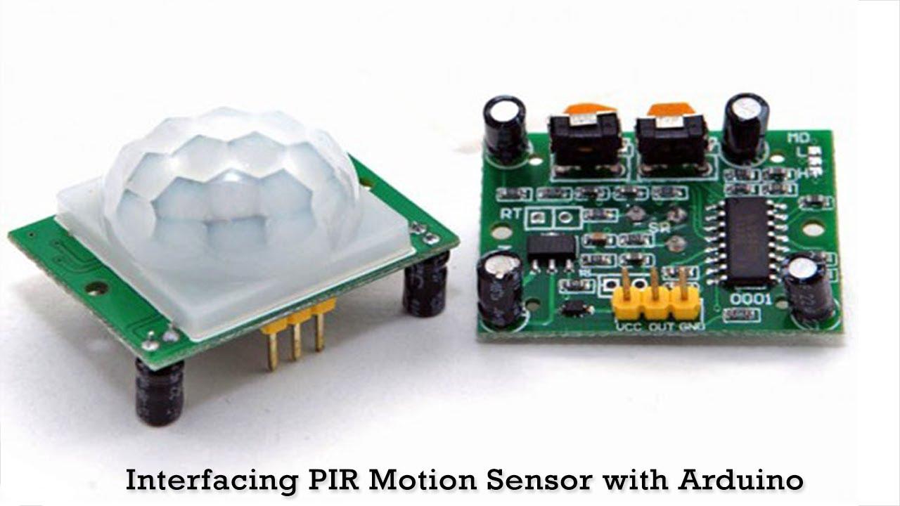 Pir Motion Sensor With Arduino Sensors Project