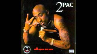 2Pac - Ambitionz As a Ridah With Lyrics
