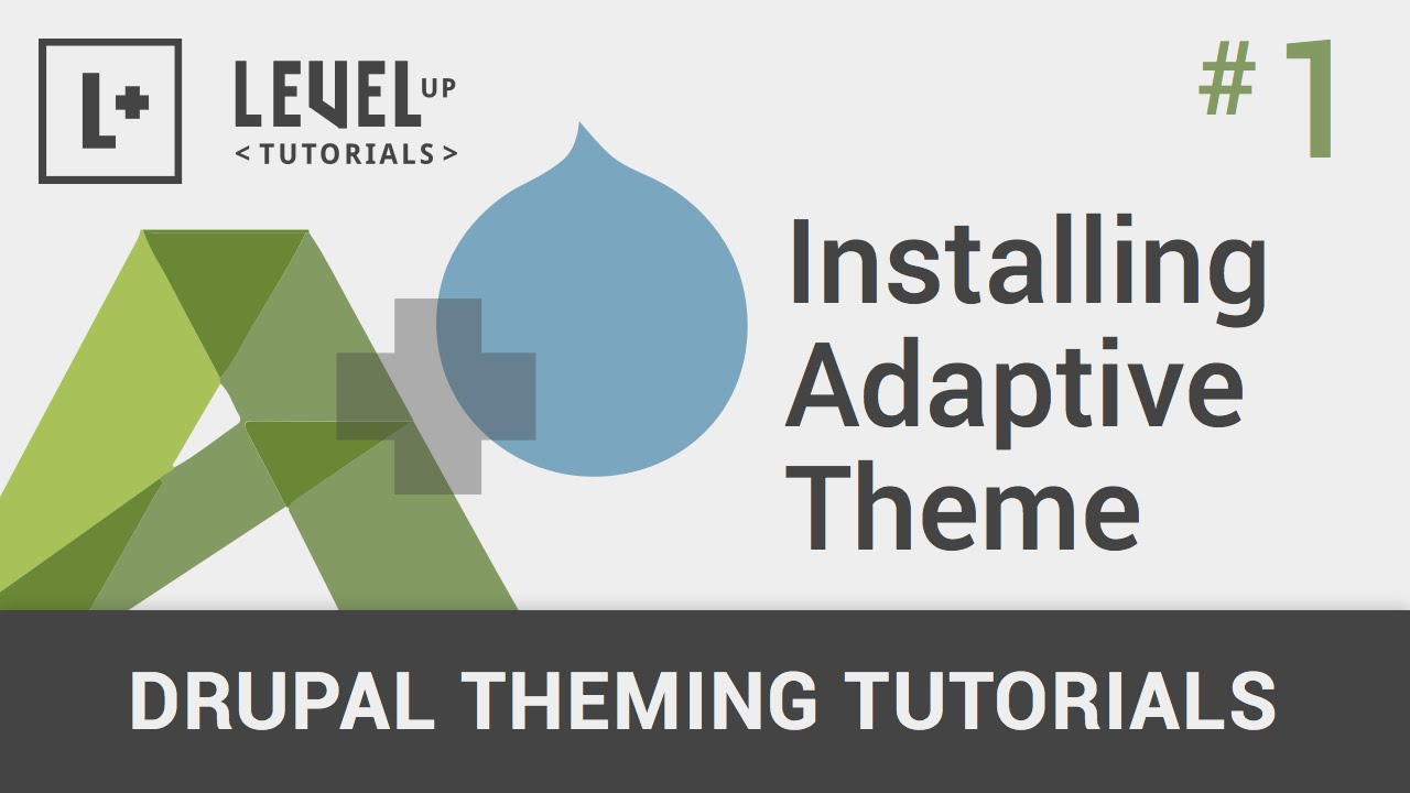 drupal theming tutorial video
