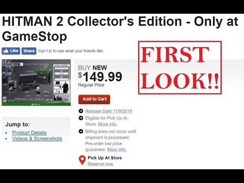 hitman 2 gold edition ps4 gamestop
